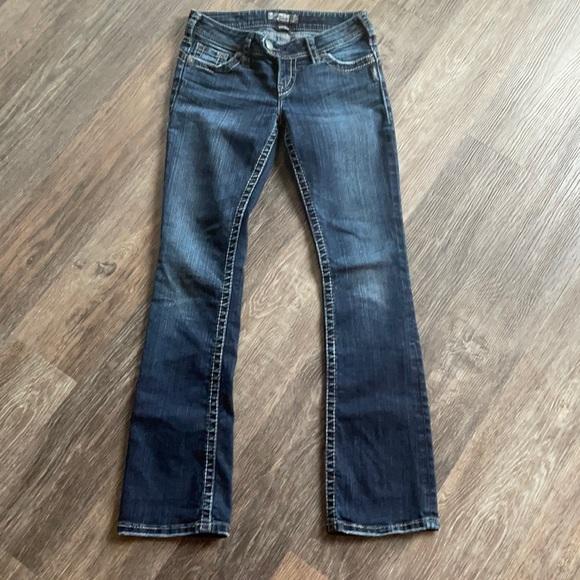 Women's Silver Tuesday Boot Cut Jeans Sz 26